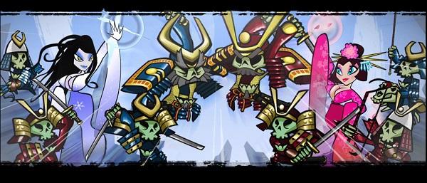 PS4 PSプラス 4月フリープレイタイトル スカルオブザショウグン Skulls of the Shogun(将軍の髑髏)