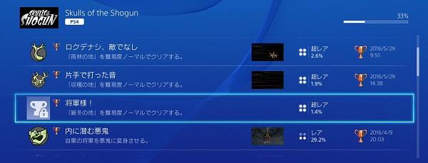 PS4 Skulls of the Shogun(将軍の髑髏) PSプラス 4月フリープレイタイトル