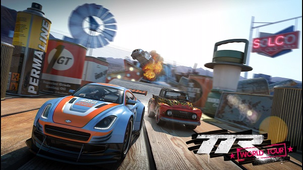 PS4 PSプラス フリープレイタイトル Table Top Racing: World Tour