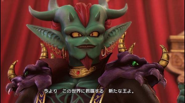 PS4 DQH2 ドラゴンクエストヒーローズⅡ 盟主様 ラスボス