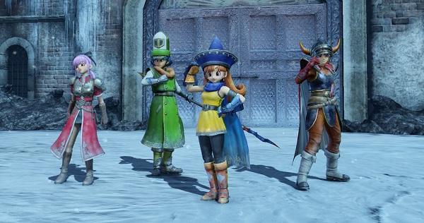 PS4 PS3 PSVITA DQH2 ドラゴンクエストヒーローズⅡ 追加ストーリー アリーナ クリフト カンダタ