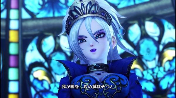PS4 PS3 PSVITA ドラゴンクエストヒーローズⅡ DQH2 マーニャ クレティア女王