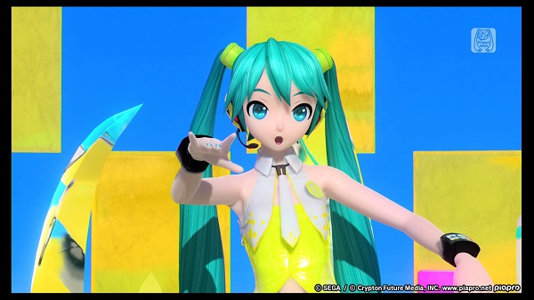 PS4 初音ミク Project DIVA Future Tone 音ゲー リズムゲーム YELLOW