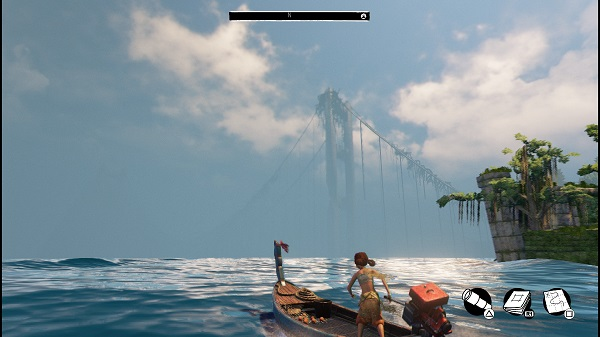 PS4 ダウンロード専用ゲーム Submerged 水没した世界 非戦闘系アドベンチャー