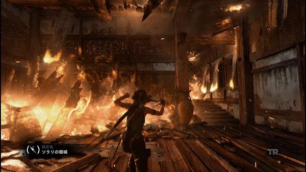 PS4 トゥームレイダー TOMBRAIDER ララ・クロフト 邪馬台国 卑弥呼