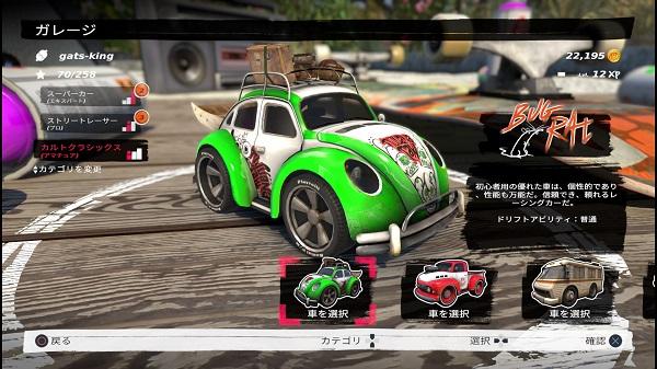 PS4 Table Top Racing: World Tour プレイ日記 PSプラス 7月 フリープレイタイトル