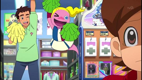 ゲームアニメ 妖怪ウォッチ 139話 感想 あしたガール