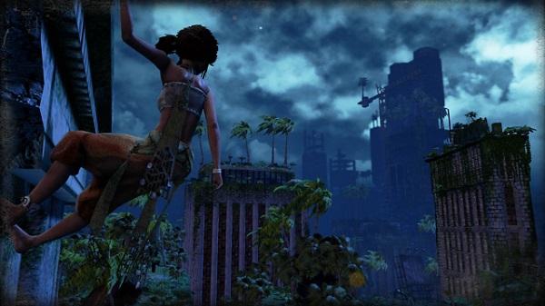 PS4 Submerged 非戦闘 探索アドベンチャー 水没した都市 ミク