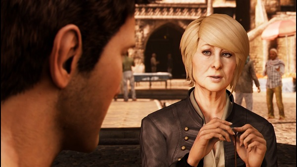 PS4 アンチャーテッド UNCHARTED3 砂漠に消えたアトランティス ネイサン・ドレイク サリー
