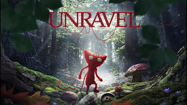 PS4 UNRAVEL ダウンロード専用ゲーム 毛糸がほどけるゲーム