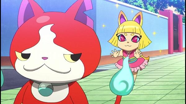 ゲームアニメ 妖怪ウォッチ 140話 コンたん ニャーKB フササたん