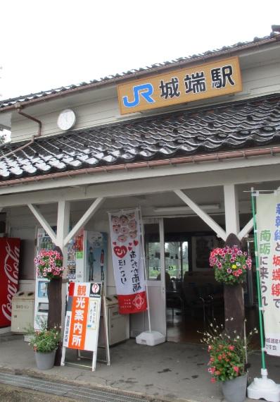 160709城端駅