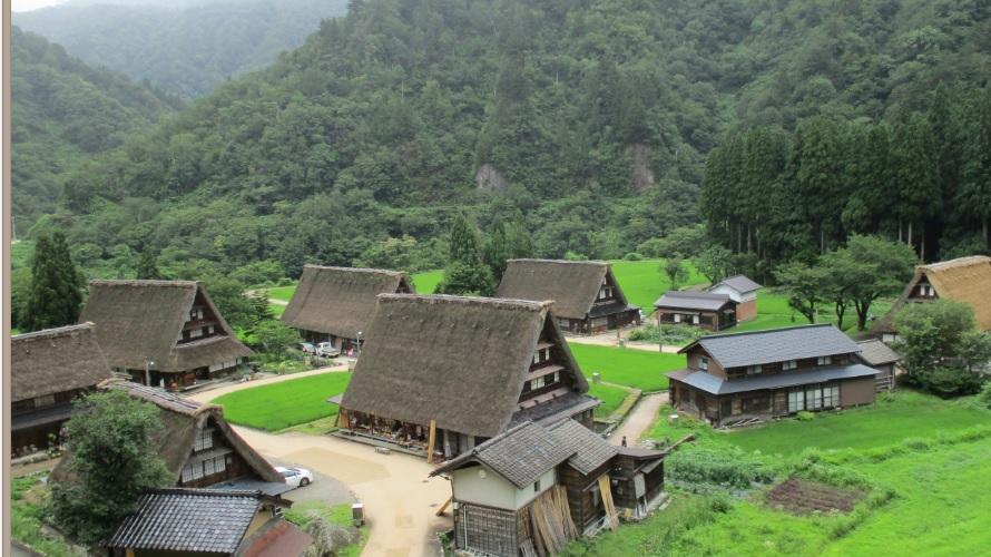 160709菅沼地区合掌造り集落