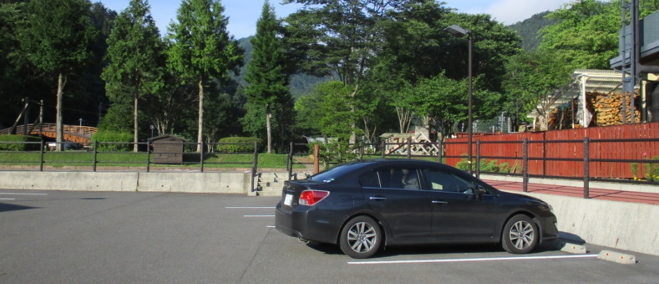 160711駐車場