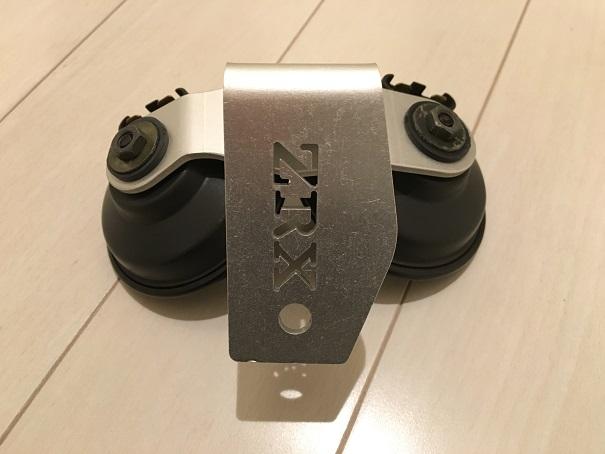 ZRX1100ホーン移設02