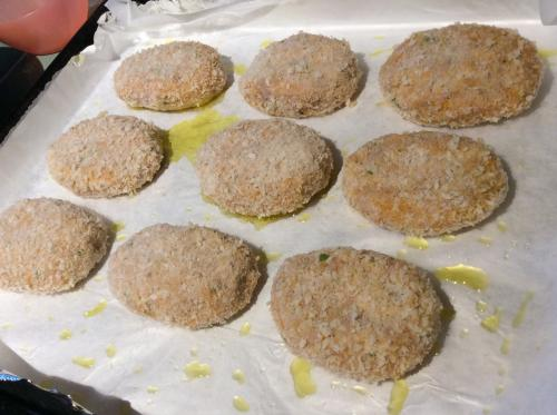 fish cakes before cooking