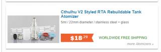 Cthulhu V2 Styled RTA