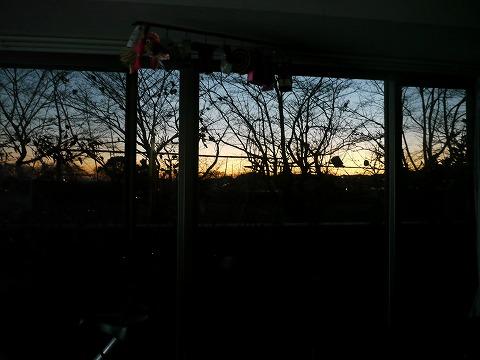 夕焼けが綺麗だったり