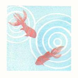 金魚と波紋色見本