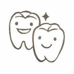 いい歯の日・歯2本