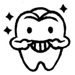 輝く歯くん