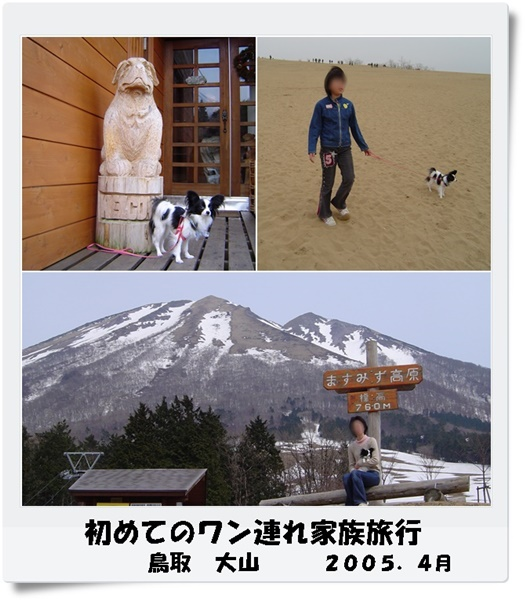 初めての旅行2005年