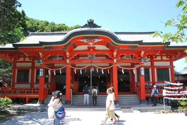 淡島神社拝殿