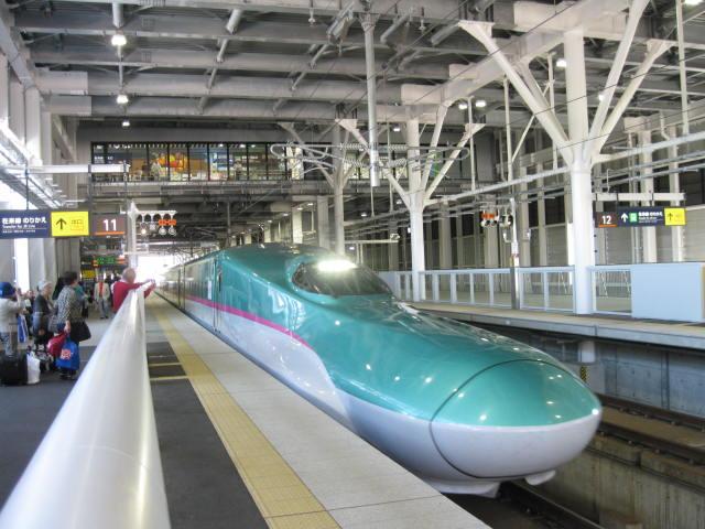 北海道新幹線 初乗り