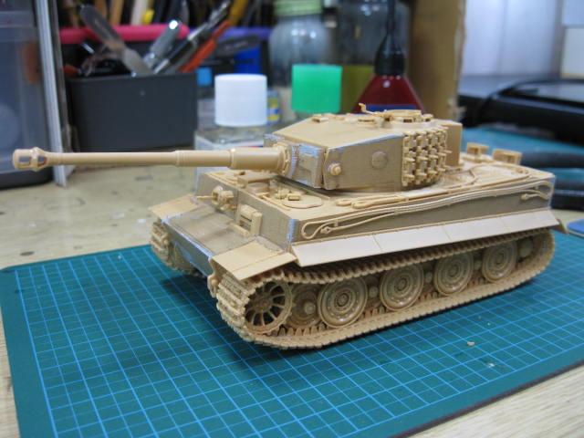 1/48 タイガーⅠ 後期型の3