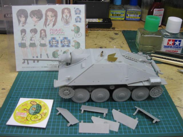 38(t)戦車改 カメさんチーム の3
