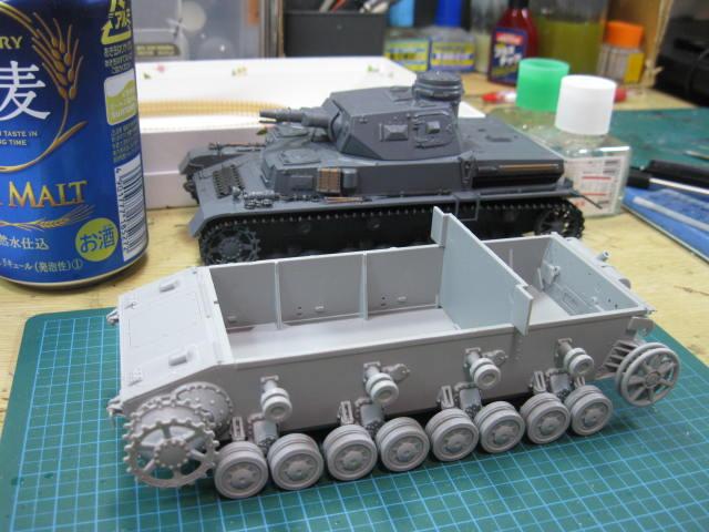 Ⅳ号戦車D型改 F2型仕様 あんこうチームの1