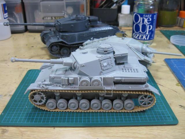 Ⅳ号戦車D型改 F2型仕様 あんこうチームの3
