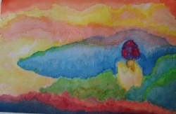 水彩画1-3