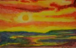 水彩画1-4