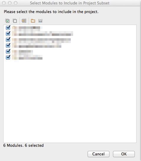 AS module select