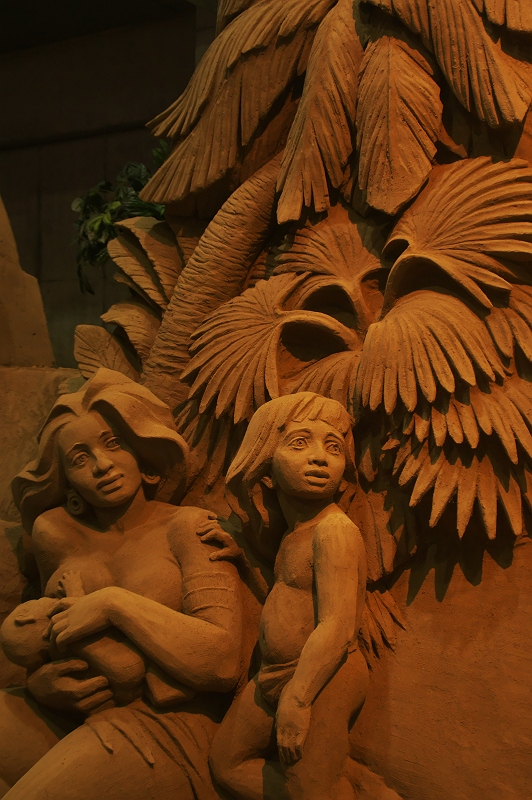 鳥取砂丘 砂の美術館 2