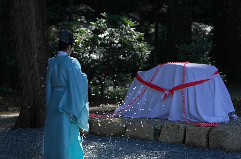 小國神社にて