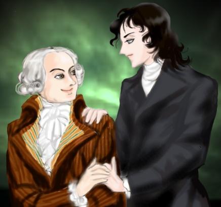 ロベスピエールとサンジュスト