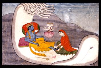 Indian_-_The_Recumbent_Vishnu_and_the_Creation_of_Brahma_-_Walters_W906.jpg