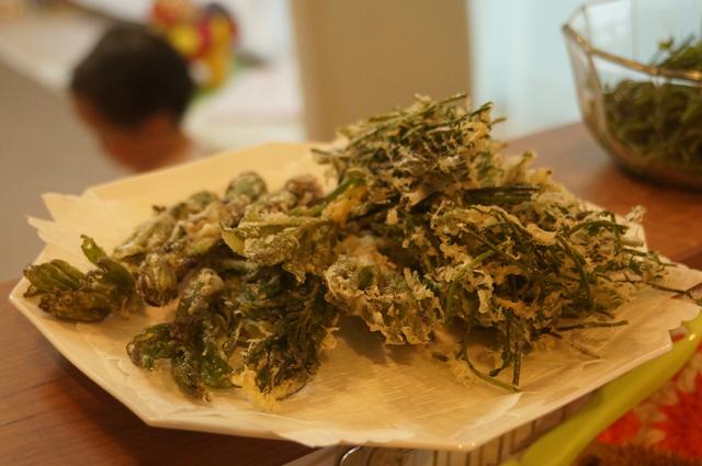 木の芽の天ぷら