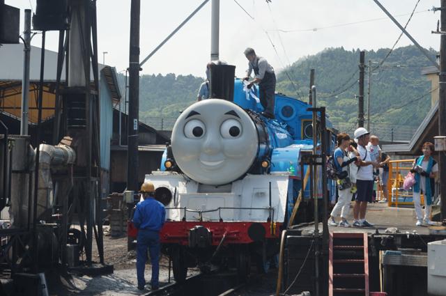 大井川鉄道のトーマスくん
