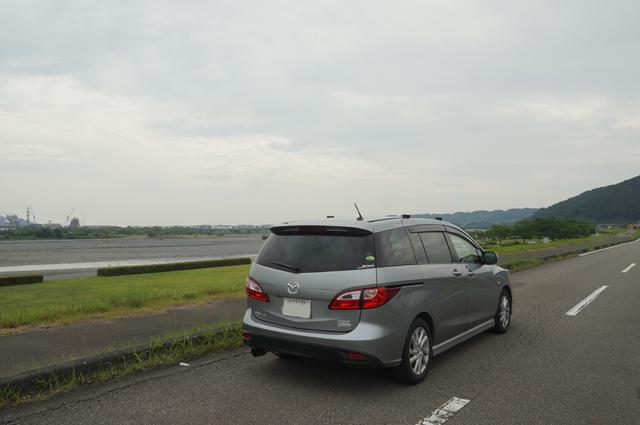 プレマシーと大井川