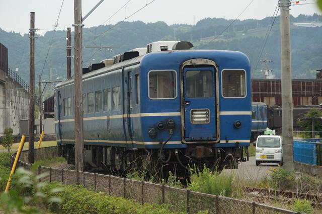 北海道からきた14系冷房付客車