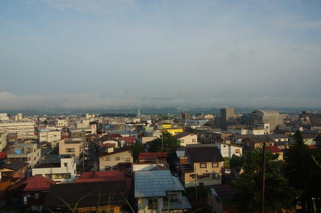 十日町 諏訪神社からの眺め