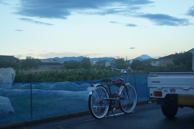 フキプランニングFK310 LAⅢ 、日野のとある部落より、富士山