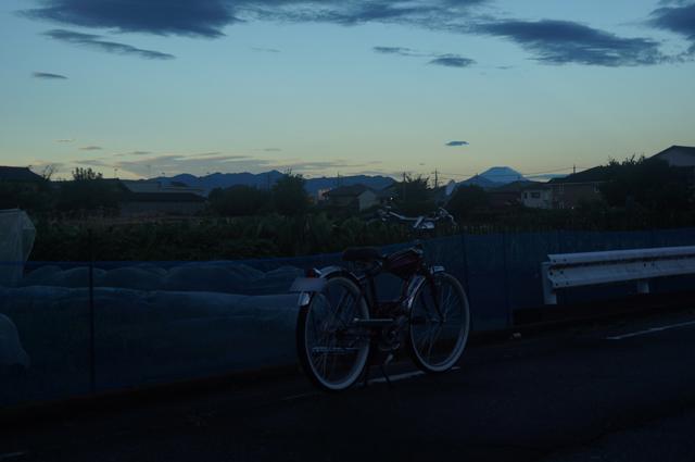 フキプランニングFK310 LAⅢ 、台風が過ぎた後の富士山