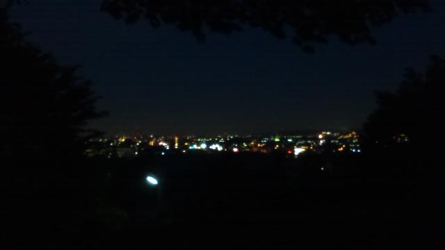日野・神明から見える夜景