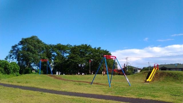七ツ塚の公園