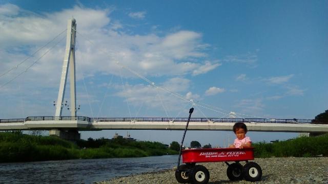 フレイ橋付近で、ラジフラ