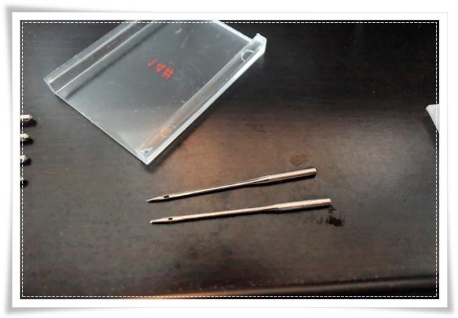 100均(キャンドゥさん)で買ったミシン針